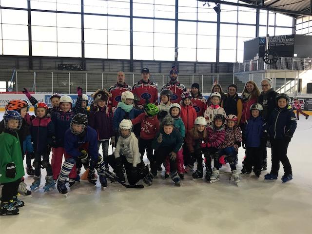 Grundschule Stephansposching zu Gast beim DSC