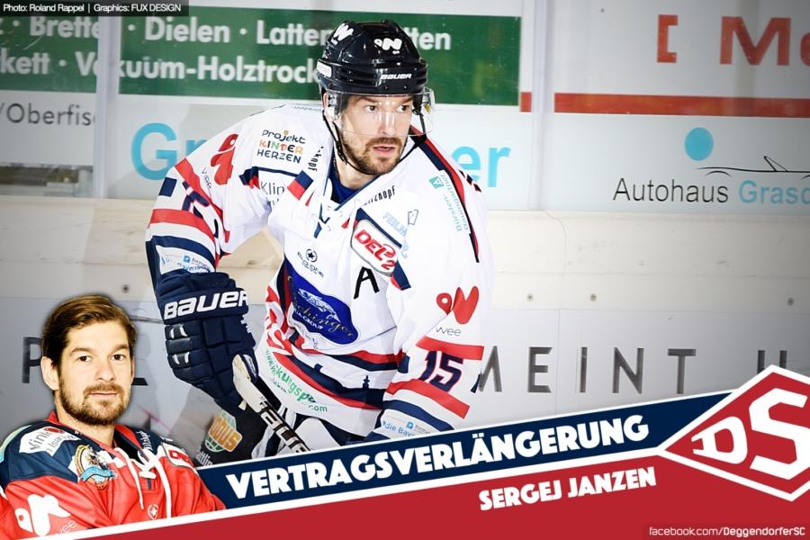 Sergej Janzen verlängert beim Deggendorfer SC