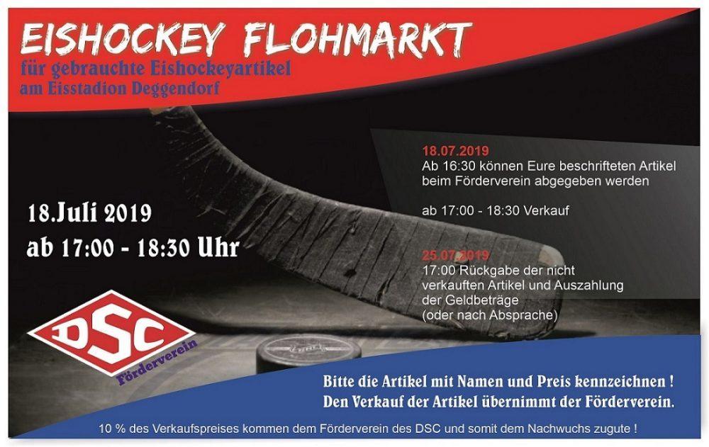 Eishockey-Flohmarkt