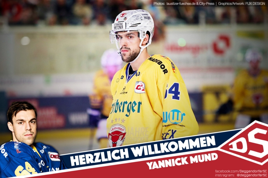 Verteidiger Yannick Mund wechselt nach Deggendorf