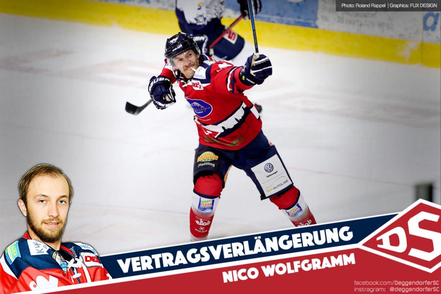 Der Rekordspieler bleibt an Bord: Nico Wolfgramm verlängert seinen Vertrag