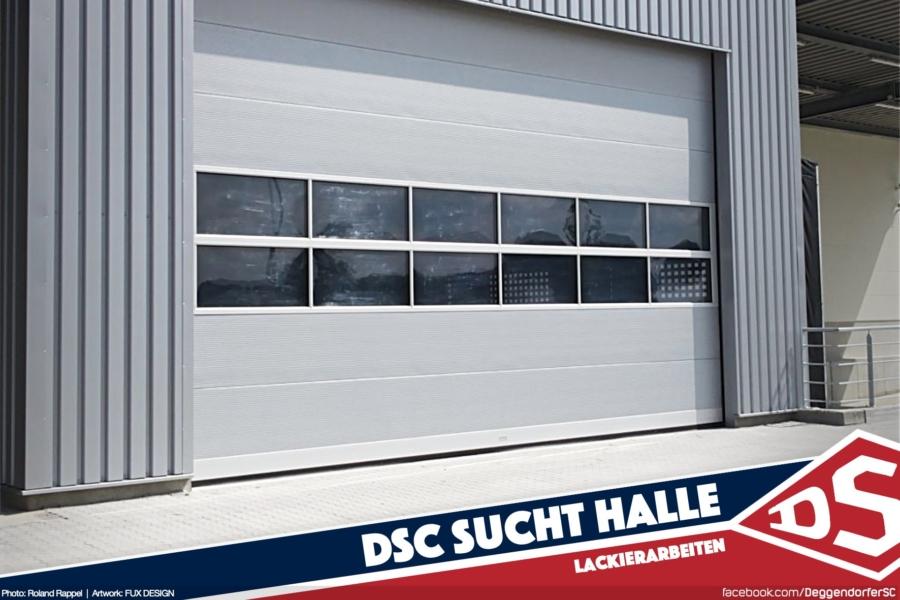DSC sucht Halle für Lackierarbeiten