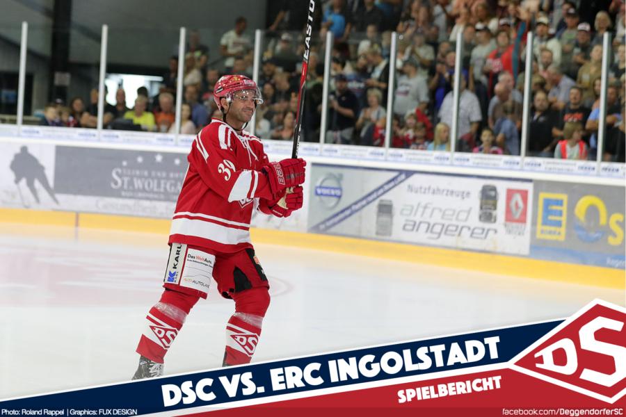 DSC krönt großes Stadionfest mit couragiertem Auftritt gegen den ERC Ingolstadt