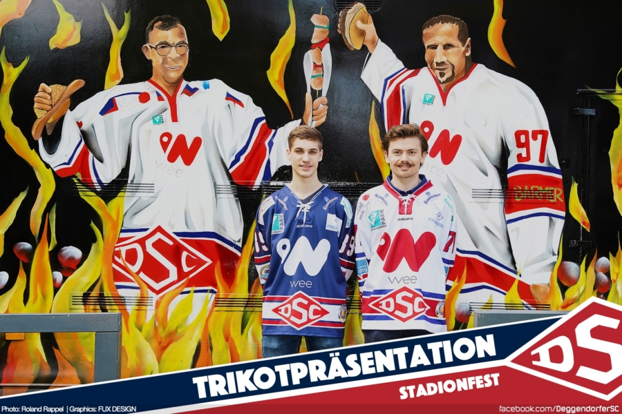 Trikotpräsentation: Saison-Trikots 2019/20