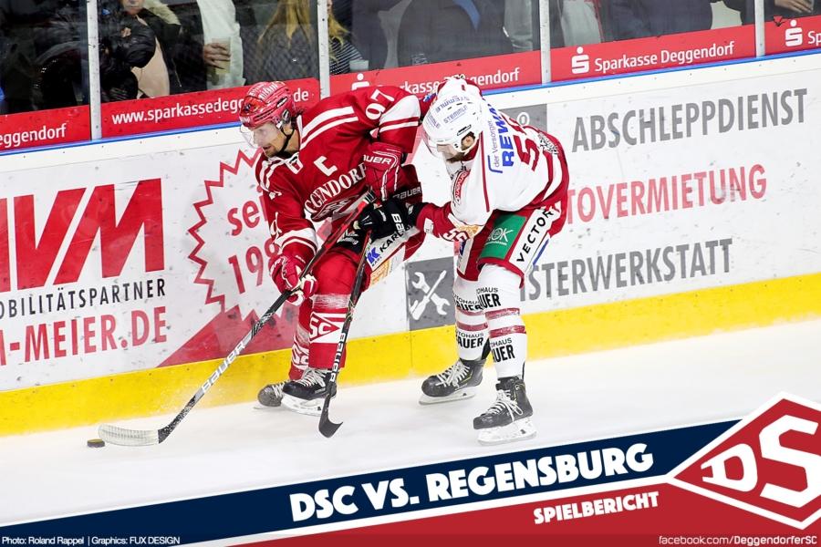 DSC unterliegt im Testspiel den Eisbären Regensburg