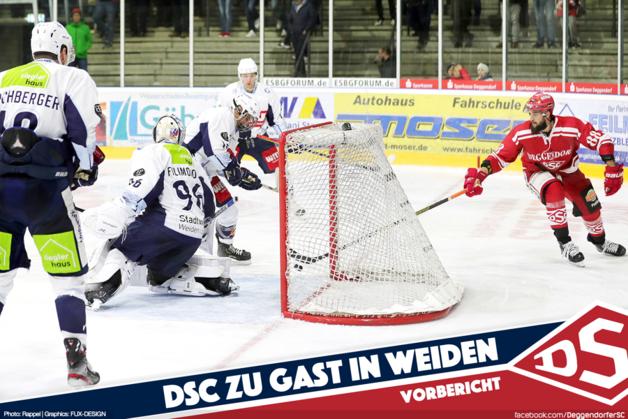 Deggendorfer SC gastiert bei den Blue Devils Weiden
