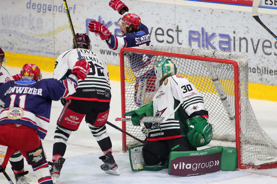 Ersatzgeschwächter DSC holt 2 Punkte in Rosenheim