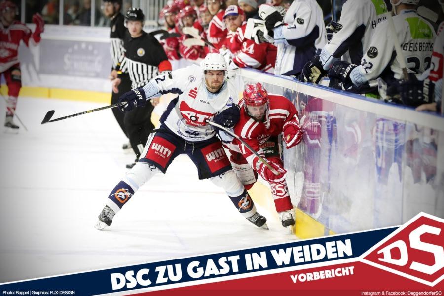 Deggendorfer SC zu Gast in Weiden