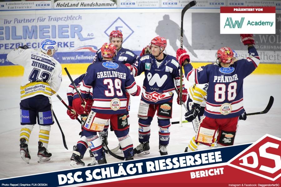 Nach konzentrierter Defensivleistung: DSC schlägt den SC Riessersee