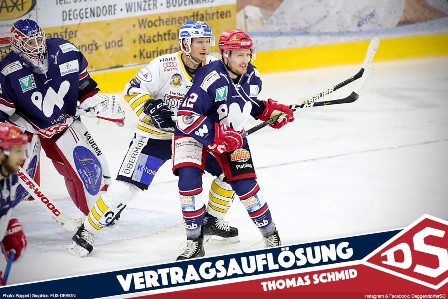 Thomas Schmid verlässt den Deggendorfer SC