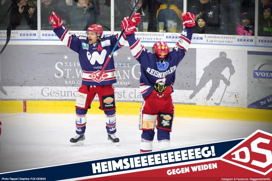 Deggendorfer SC mit Kantersieg über die Blue Devils Weiden