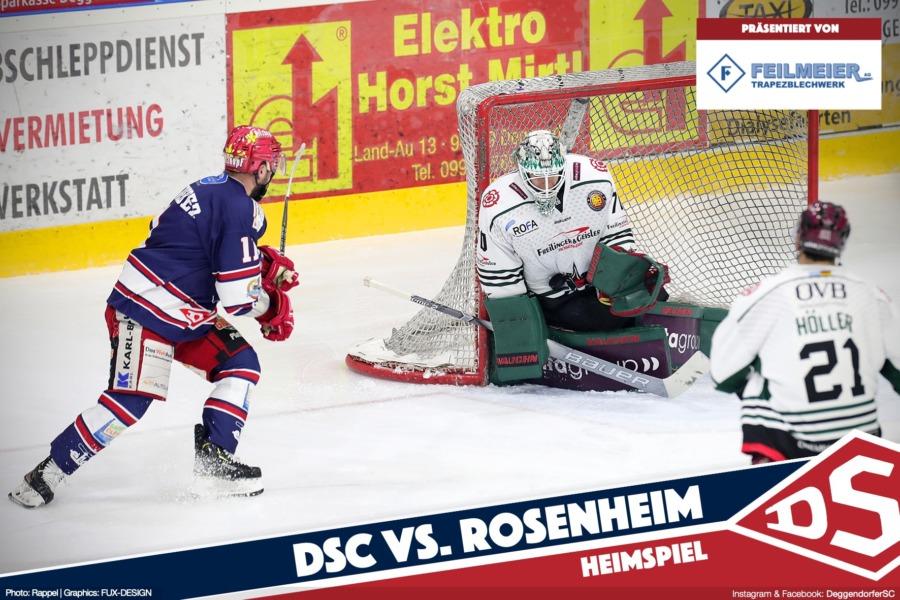DSC vor erneutem Duell mit den Starbulls Rosenheim