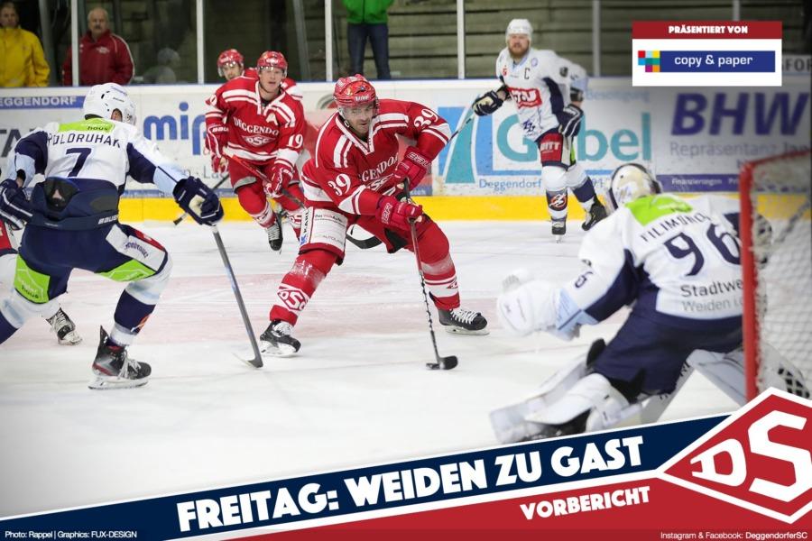 Deggendorfer SC trifft auf die Blue Devils Weiden