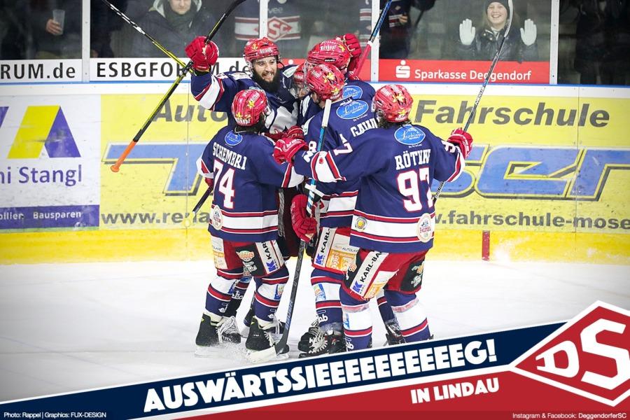 Deggendorfer SC mit deutlichem Auswärtssieg in Lindau