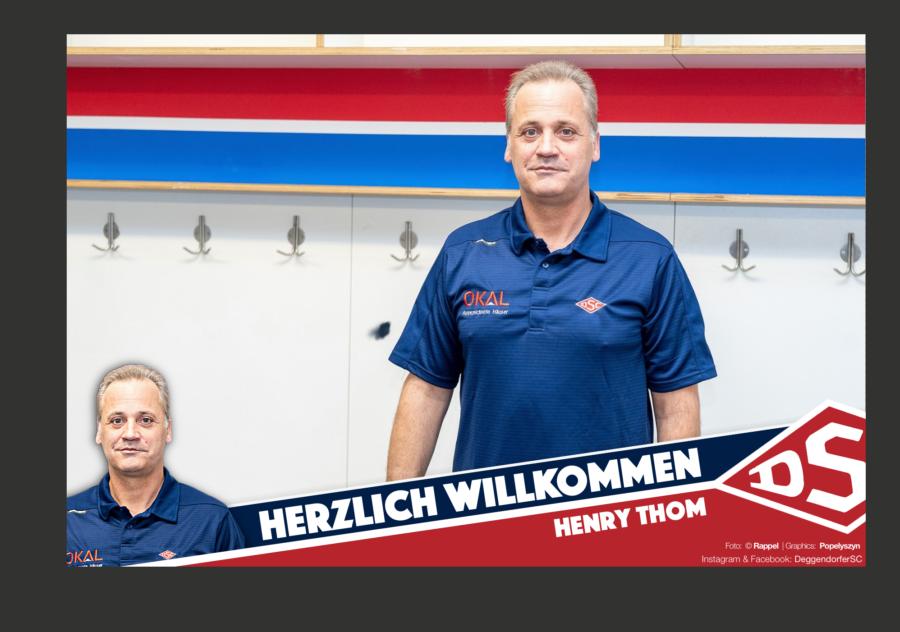 Henry Thom wird neuer Trainer und sportlicher Leiter beim DSC
