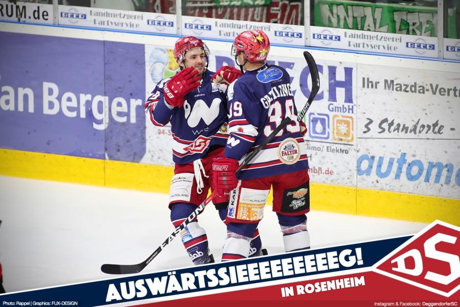 Deggendorfer SC beendet Rosenheimer Heimserie