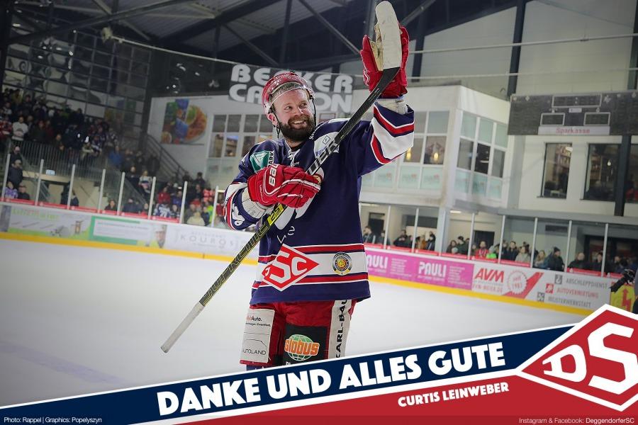 Curtis Leinweber verlässt den Deggendorfer SC