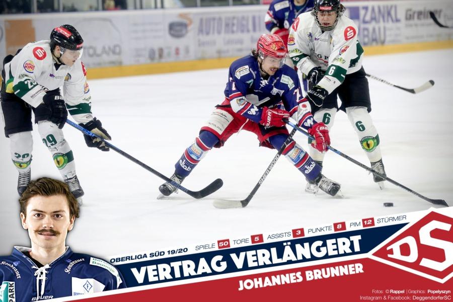 Nächster Jungspund im DSC-Trikot: Johannes Brunner verlängert Vertrag
