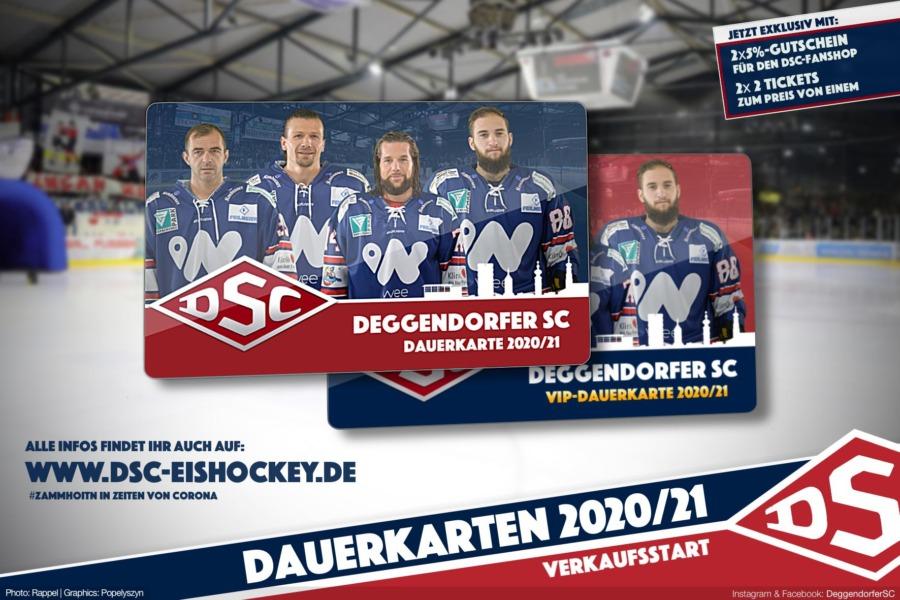 Deggendorfer SC startet den Dauerkartenverkauf