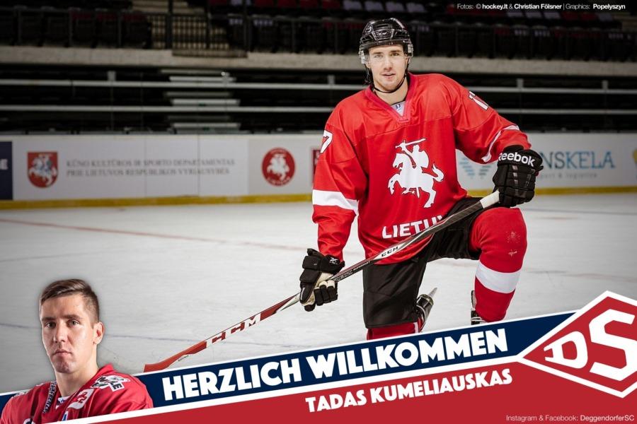 Sveiki, Tadas! DSC besetzt erste Kontingentstelle mit litauischem Nationalspieler