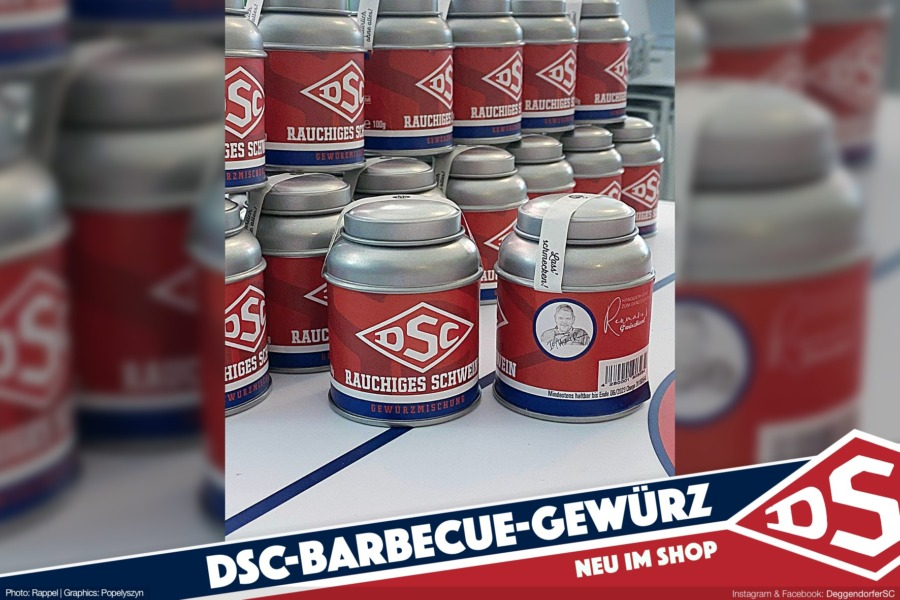 DSC-Barbecue-Gewürz ab sofort im Onlineshop bestellbar