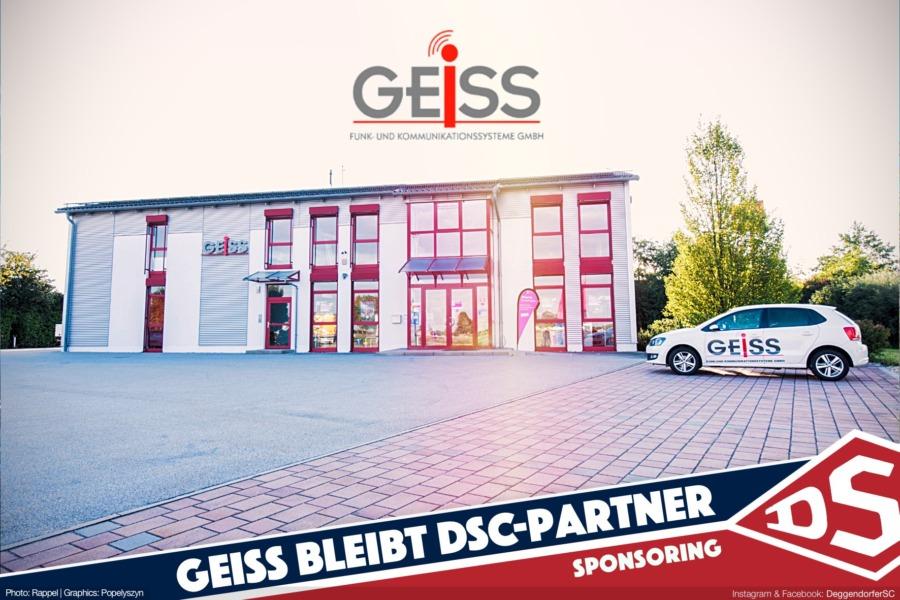 Geiss Funk- und Kommunikationssysteme GmbH und der Deggendorfer SC bleiben sich treu