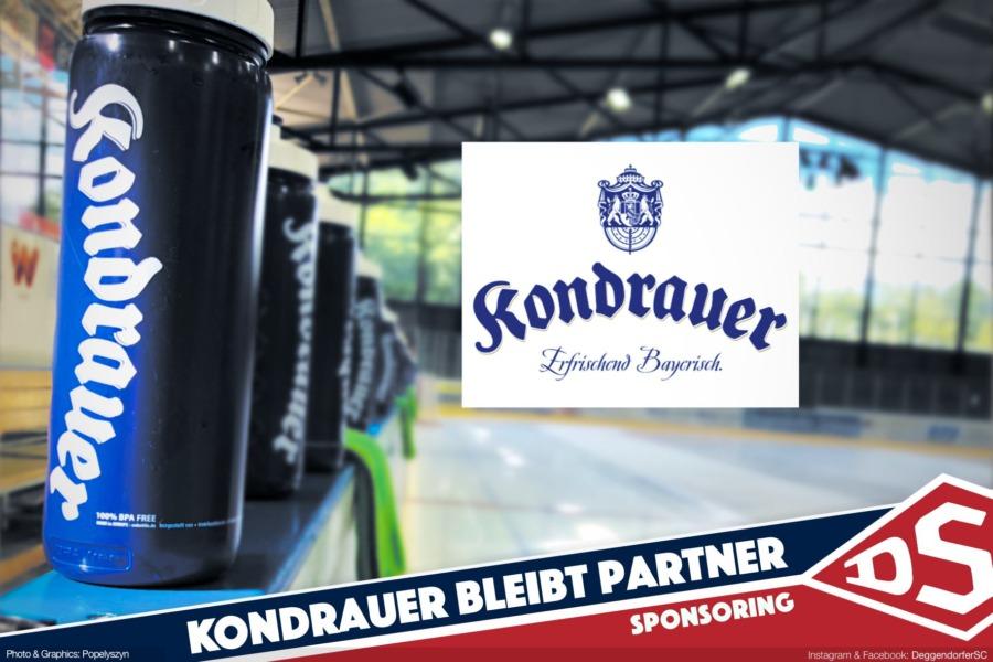 Deggendorfer SC und Kondrauer verlängern Partnerschaft