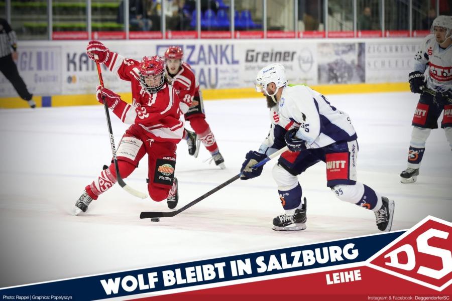 Marlon Wolf bleibt in Salzburg