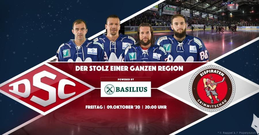 Endlich wieder Heimspiel! Deggendorfer SC empfängt die Eispiraten Crimmitschau
