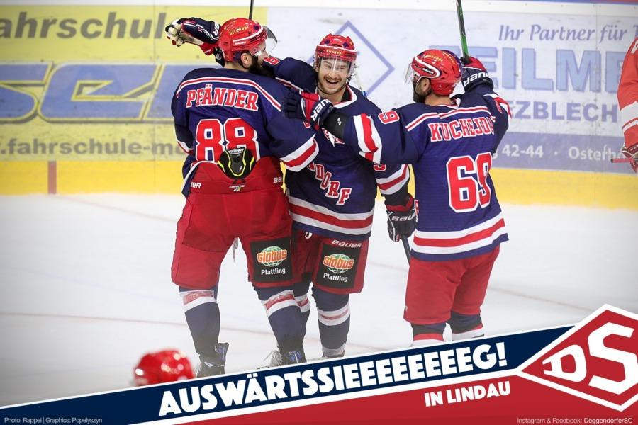 Deggendorfer SC mit deutlichem Testspiel-Erfolg in Lindau