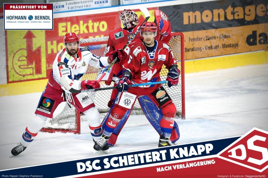 Deggendorfer SC geht in der Overtime K.O.