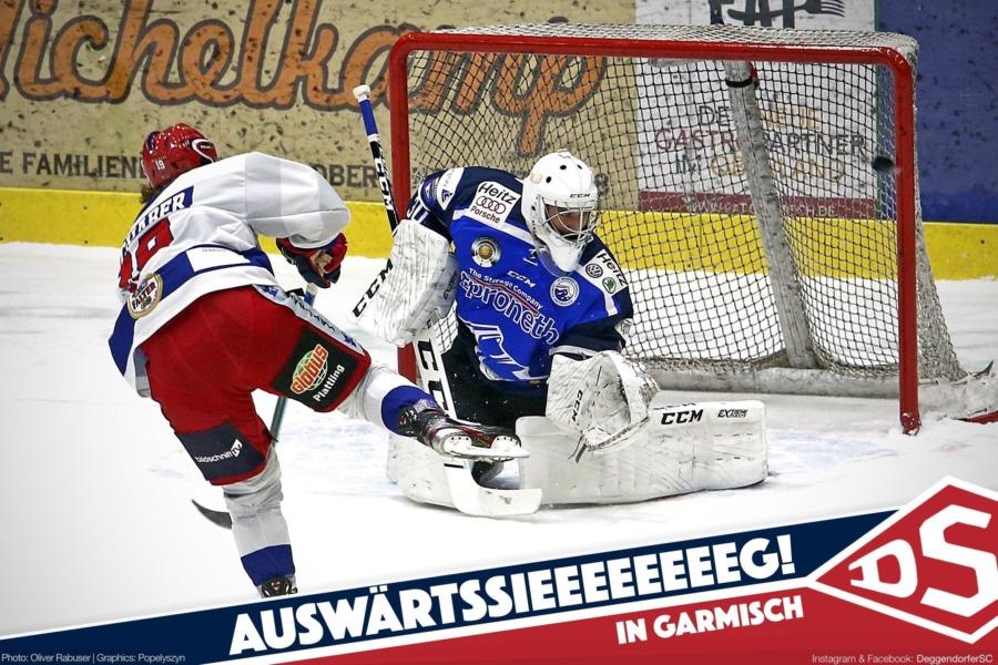Deggendorfer SC siegt überzeugend beim SC Riessersee