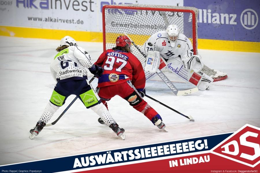 Deggendorfer SC feiert ersten Saisonsieg in Lindau