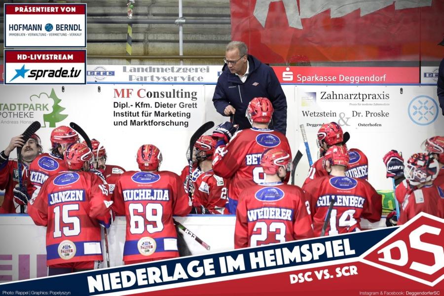 Ein gutes Drittel reicht nicht: Deggendorfer SC unterliegt auch dem SC Riessersee