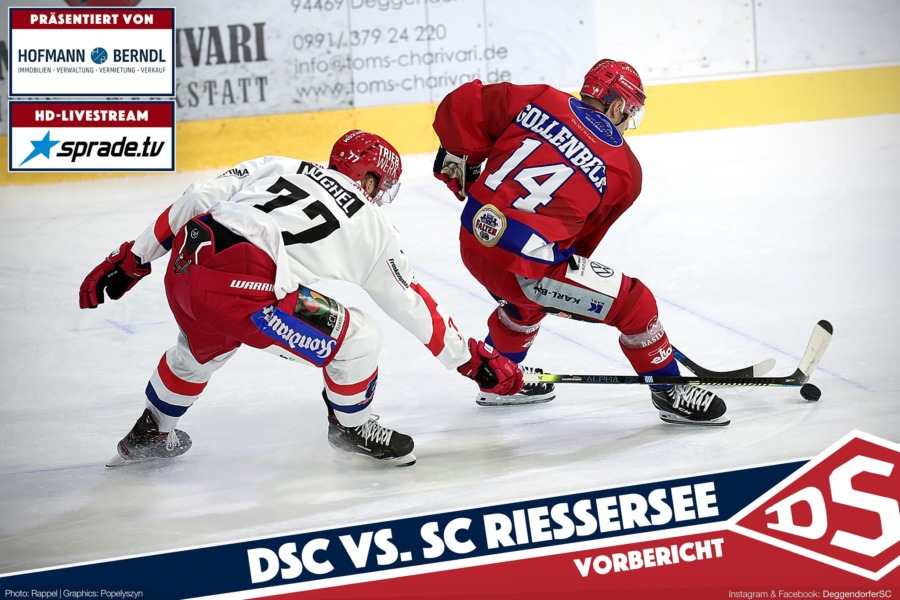 Deggendorfer SC will gegen den SC Riessersee zurück in die Erfolgsspur