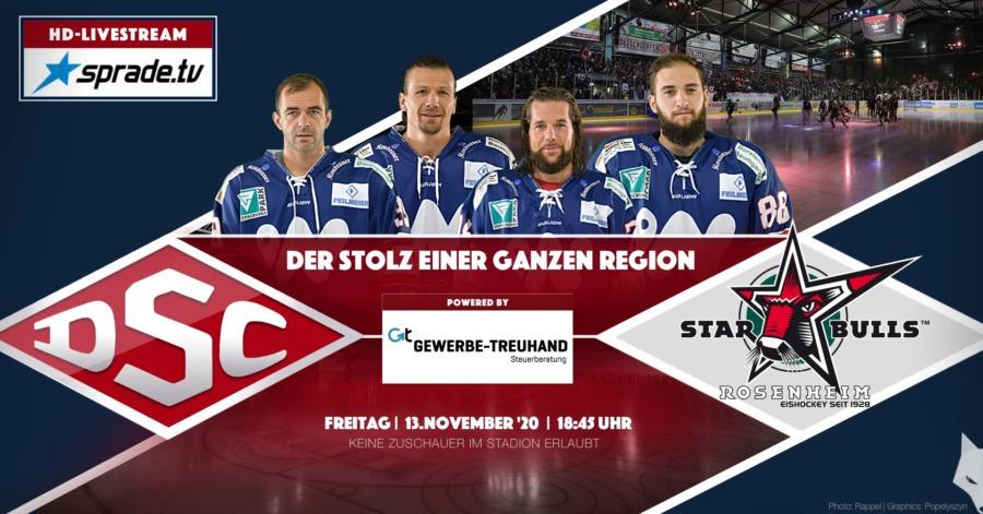 Nach Erfolg in Lindau: Deggendorfer SC empfängt die Starbulls Rosenheim