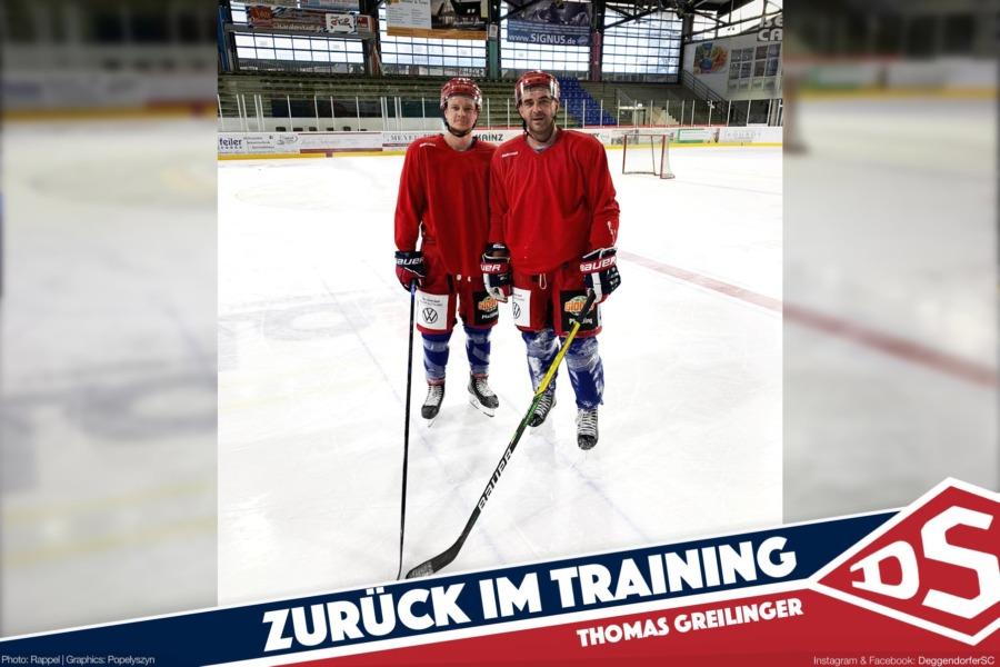 He is back! Willkommen zurück, Thomas Greilinger!