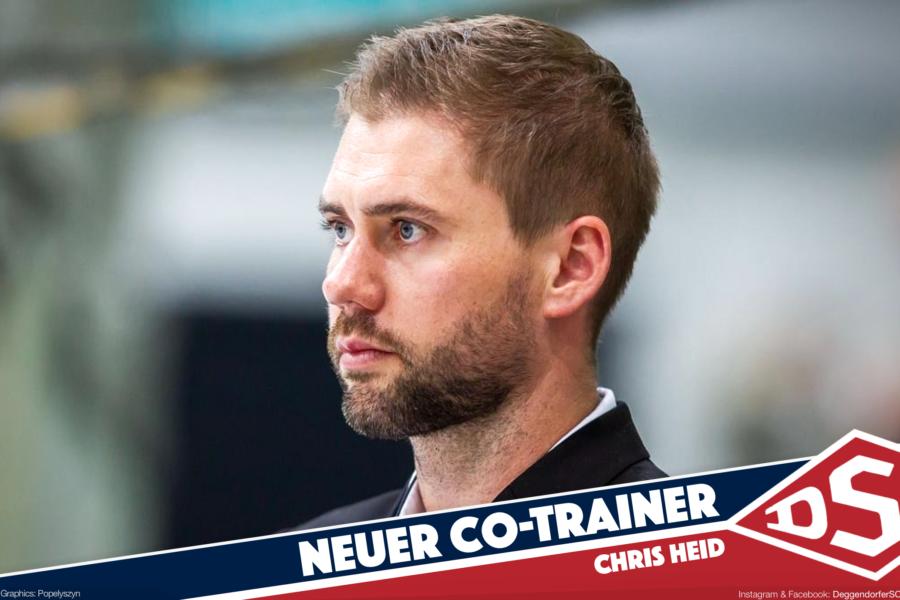 Neue Impulse gesucht: Chris Heid wird Co-Trainer beim Deggendorfer SC
