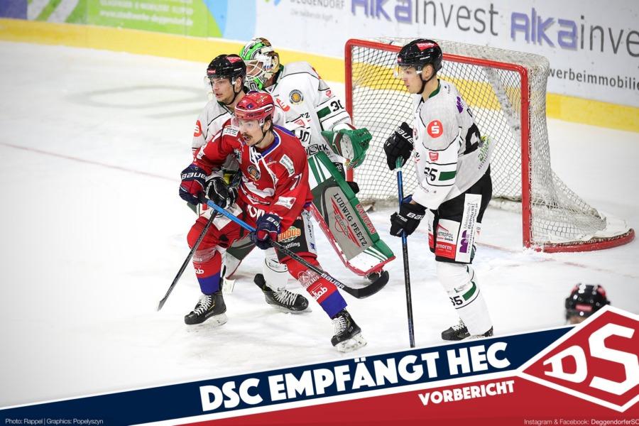 Rückspiel in Deggendorf: DSC empfängt Höchstadt