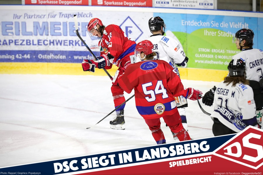 Deggendorfer SC siegt deutlich in Landsberg