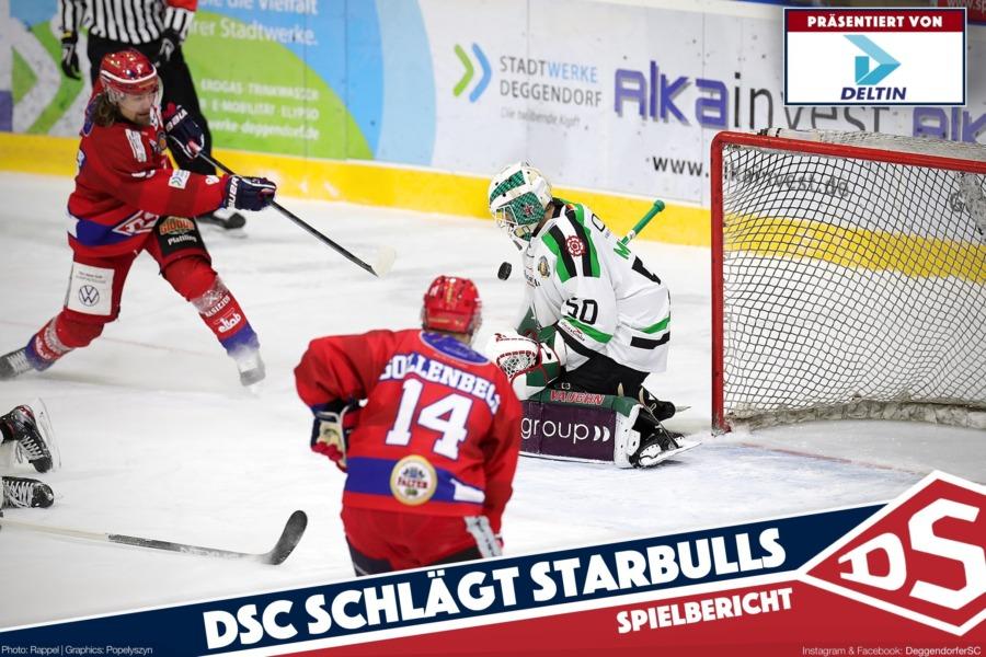 DSC siegt im Penaltykrimi über die Starbulls Rosenheim