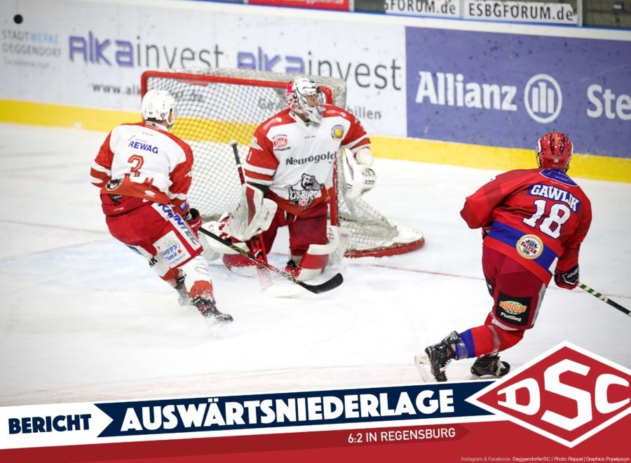 Deggendorfer SC unterliegt im Ostbayernderby