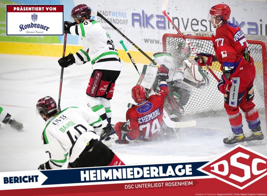 Deggendorfer SC geht gegen Rosenheim leer aus