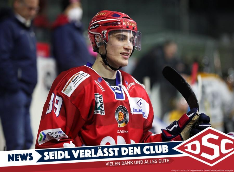David Seidl verlässt den Deggendorfer SC