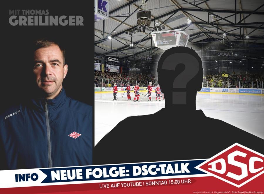 LIVE-EVENT: DSC-Talk mit Thomas Greilinger und einem weiteren Neuzugang