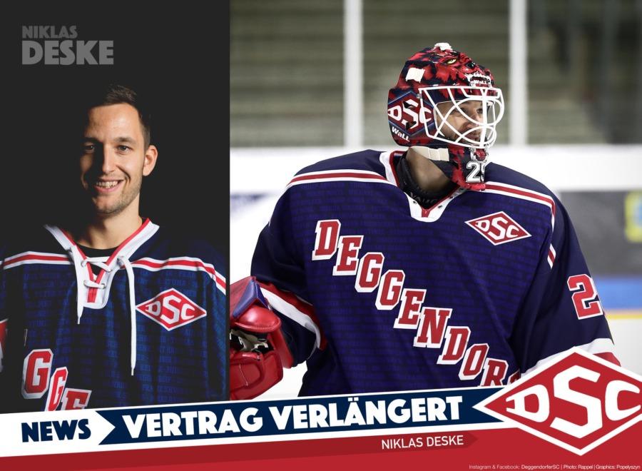 Erwartungen erfüllt: Niklas Deske bleibt in Deggendorf