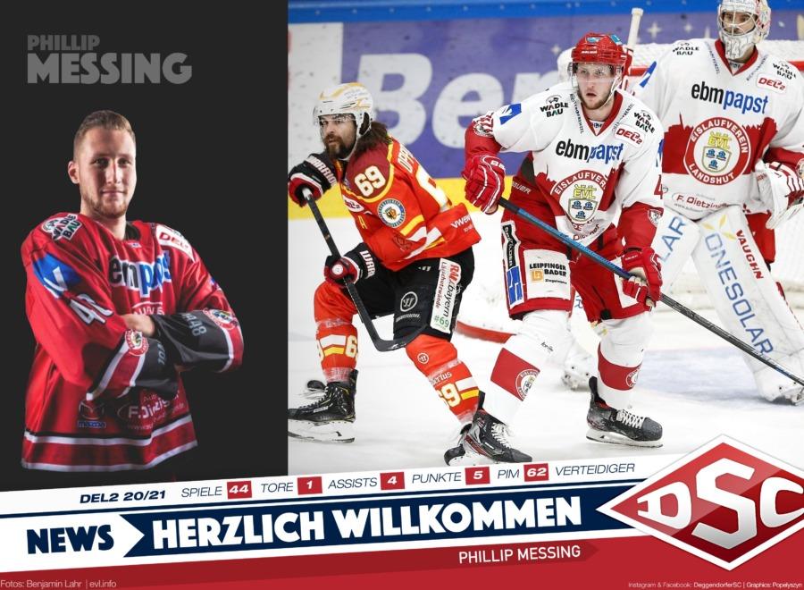 Defensiv-Verteidiger mit Gardemaß: Phillip Messing wechselt nach Deggendorf