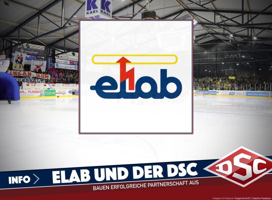 Elab bleibt weiterhin treuer Partner des Deggendorfer Eishockeys