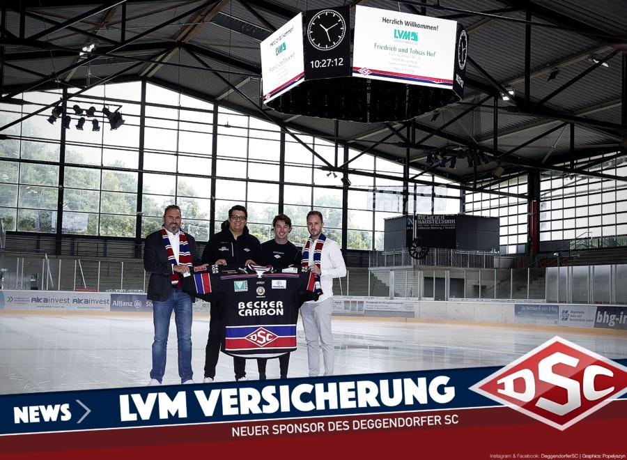 DSC begrüßt einen neuen Partner: LVM-Versicherungsagentur Friedrich und Tobias Hof