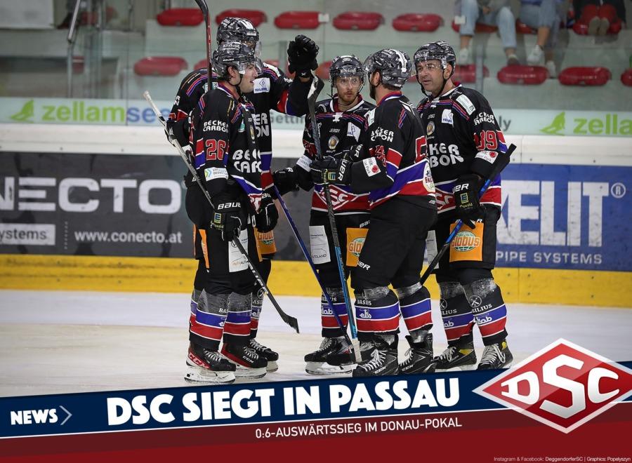 Deggendorfer SC lässt den Passau Black Hawks keine Chance